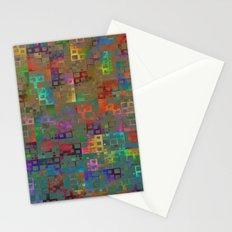 Geometrical Pattern 3 Stationery Cards