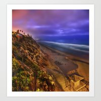 Encinitas Beach Art Print