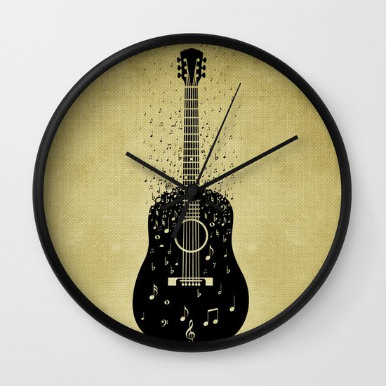 Musical ascension Wall Clock