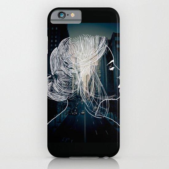 The woman who never sleep iPhone & iPod Case