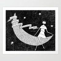 I Have Loved The Stars T… Art Print