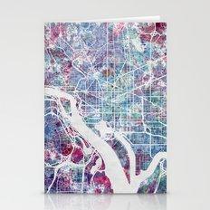 Washington map Stationery Cards