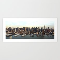 Hudson Meet NYC Art Print