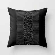 Furr Division Cats Throw Pillow