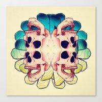 The Human Virus Canvas Print