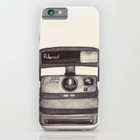 iPhone & iPod Case featuring Ballpoint Palaroid Camera by One Curious Chip