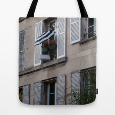 Parisian Awning Tote Bag