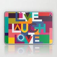 LIVELAUGHLOVE V2 Laptop & iPad Skin