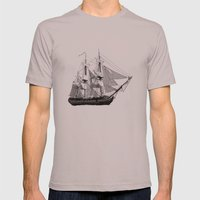 HMS Surprise Mens Fitted Tee Cinder SMALL