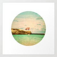 Day At The Reef Art Print