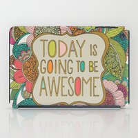 Today is going to be awesome iPad Case