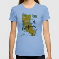 T-shirt featuring Postcard From California by Christiane Engel