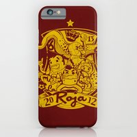 iPhone & iPod Case featuring La Roja by Pahito