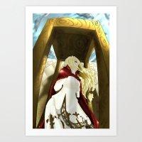 Golgorand Execution Site Art Print