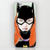 Batgirl iPhone & iPod Skin