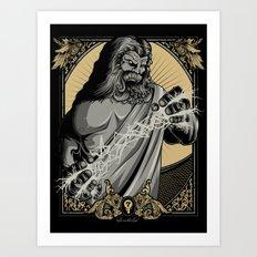 Zeus Art Print