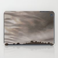 the sky is acting funny iPad Case