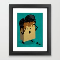 Fashion Victim Framed Art Print