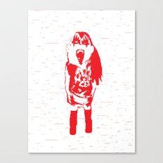 Kiss Loves You #1 Canvas Print