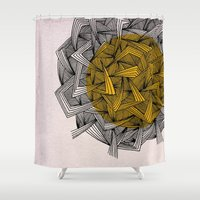 - cosmos_01 - Shower Curtain
