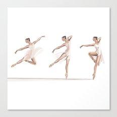 Ballet Dance Moves Canvas Print