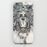 iPhone Cases featuring Lion by Feline Zegers