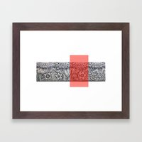 Four Sides Of A Box (i) Framed Art Print