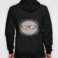 Lady Gouldian Finches Hoody