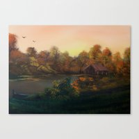 New Day In Autumn (Sold) Canvas Print