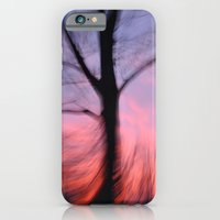iPhone & iPod Case featuring Fire Sky 2 by GinaGorsek