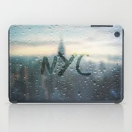 Rainy Day In NYC iPad Case