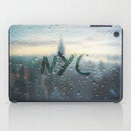 Rainy Day In NYC iPad Case