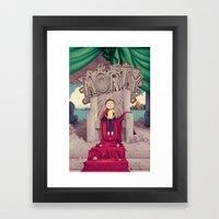 The GOOD Morty Framed Art Print
