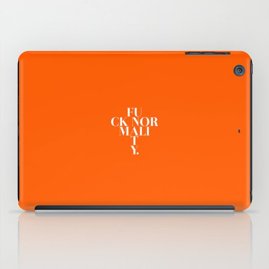 Normality iPad Case