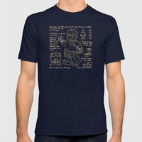 Plan Lego Mens Fitted Tee Navy SMALL