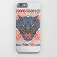 iPhone & iPod Case featuring Hunting Club: Nargacuga  by MeleeNinja