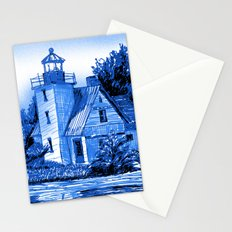 Light House: Blues Stationery Cards