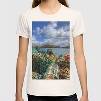Rodel, Isle Of Harris Womens Fitted Tee Natural SMALL