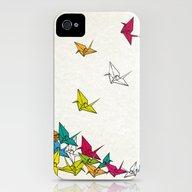 Cranes Origami iPhone (4, 4s) Slim Case