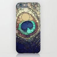 feather iPhone & iPod Cases featuring Peacock Feather  by Love2Snap