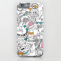 iPhone & iPod Case featuring My Happy Doodle by Duru Eksioglu