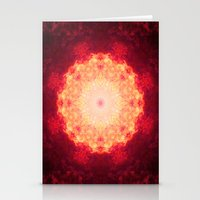Fire Galaxy Stationery Cards