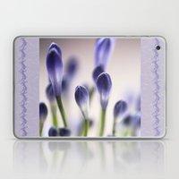 Agapanthus Buds Laptop & iPad Skin