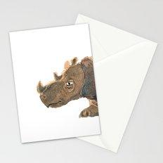 Thinking Rhinoceros Stationery Cards