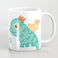 Bird & Chameleon Mug