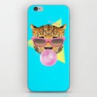 Bubble Gum Leo iPhone & iPod Skin