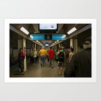 Chicago Blueline 1 Art Print