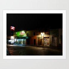 Morelia at Night Art Print