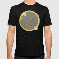 Coffee Time! Mens Fitted Tee Tri-Black SMALL