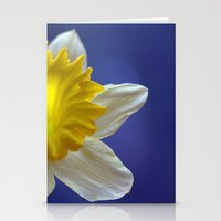 Daffodil In Blue 9856 Stationery Cards